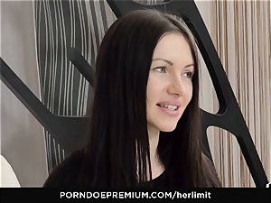 HER confine - raunchy anal invasion and face screw with Sasha Rose