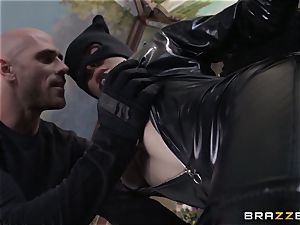 muddy thief Cytherea nails her rival in steaming tight rubber
