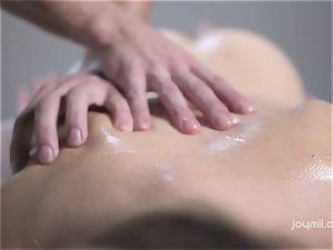 Deep erotic massage for the pale sensitive Alecia