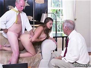 ravage his elderly buddy playfellow s sister Ivy amazes with her huge fun bags and rump