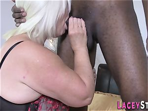 Lacey Starr Gets humped rock hard by a black man