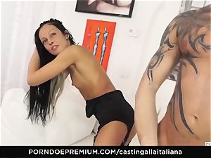 audition ALLA ITALIANA - super-naughty hookup with local first-timer