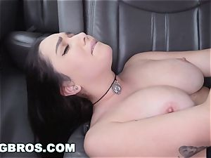 BANGBROS - giant boobies pornstar Karlee Grey on poke Bus