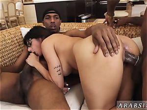 red-hot arab immense breast milf and movie My fat ebony three-way