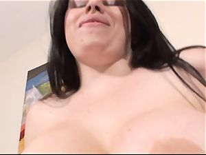 Daphne Rosen gets her raw vagina filled with rock-hard cock
