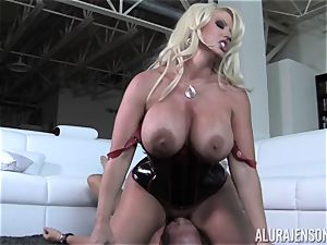 mischievous Alura Jenson shows her spouse a new side of her
