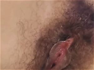 Nerdy uber-cute jugs stunner Self smash on web cam