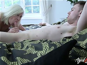 AgedLovE hardcore with red-hot Mature Lacey Starr