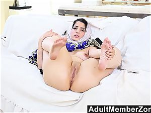 AdultMemberZone isolated Arab stunner gives
