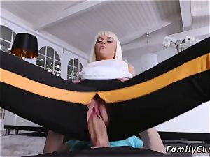 Step daddy ravages counterpart playfellow s daughter-in-law and allys opening up Your Stepmom