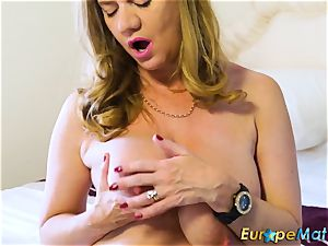 EuropeMaturE super-sexy Mature Solos scorching Compilation