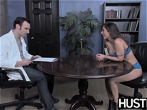 big-chested Reena Sky earns facial after godly rod riding