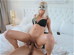 stunners Marley Brinx and Molly Mae hooded plowing and blowing