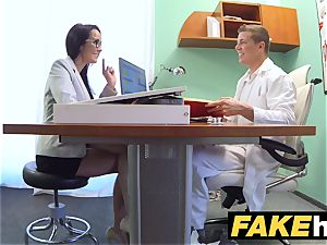 faux clinic Doctors man-meat stretches scorching Portuguese honey