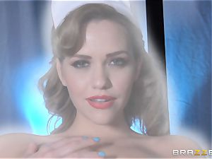 dream nurse Mia Malkova gets her patient thru his operation
