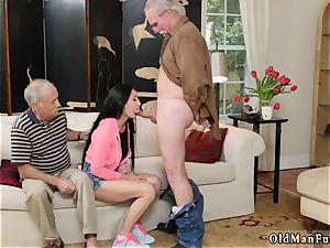 nubile blows older dude Dukke the Philanthropist