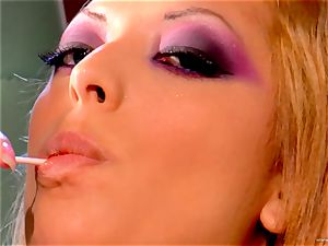 Audrianna Angel enjoys getting nailed rock hard and tough