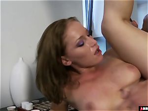 Kathia Nobili savagely fucked On The Table
