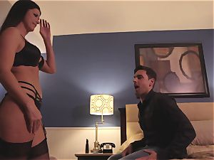 The Game part 2 with milf black-haired India Summers