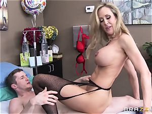 Rock firm patient gets porked by medic Brandi love