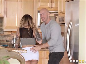 cheating wifey Payton West romps her mans pal