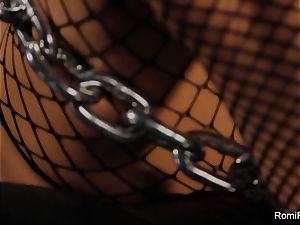 Romi Rain gets chained