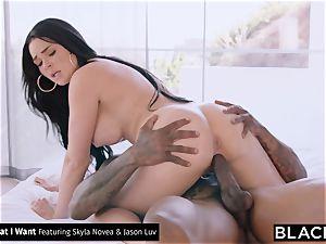 BLACKED big black cock railing Compilation