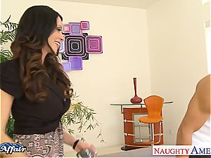 supreme looking Ariella Ferrera bang her neighbor