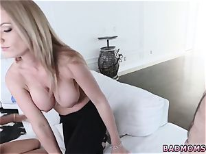 milf gets seduced fucking partner compeer and ample rump tutor poking Family Values