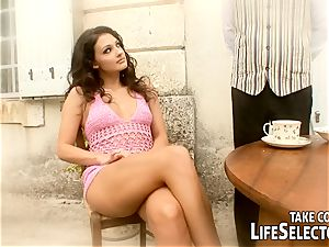 first fucky-fucky, kinky desires with the mind-blowing Aletta Ocean