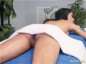 sensuous massage turns into a sensuous poke