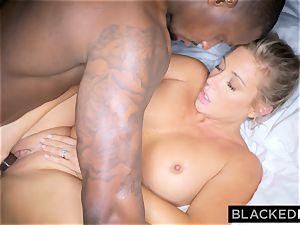 BLACKEDRAW ash-blonde trophy wifey Cucks Her husband With big black cock