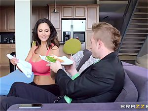 Ava Addams is pounded in both her wet holes