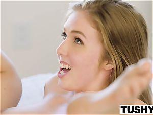 TUSHY buxom honey pokes her sisters ex bf