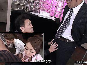 asian oral job challenge
