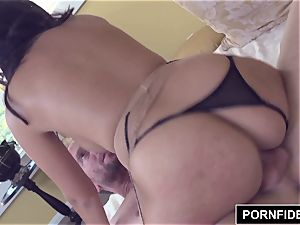PORNFIDELITY curvaceous british Ava Dalush Gets jammed