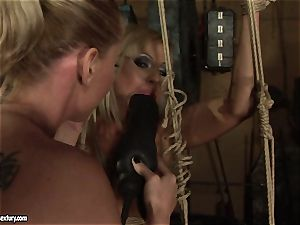Kathia Nobili enjoy porking the torrid female with faux-cock