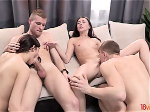 legal Videoz - Lily Cat - damsels get the bang-out soiree going