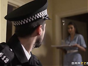 Nurse Connie Carter screws her charge