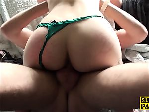 UK marionette mega-slut predominated with doggie