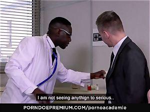 porno ACADEMIE - rectal three way with blondie schoolgirl
