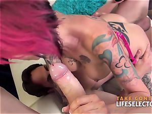 Anna Bell Peaks Lusty 3some point of view