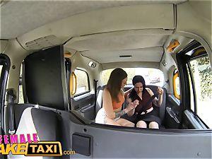 lady faux cab steamy goth gal tastes drivers labia