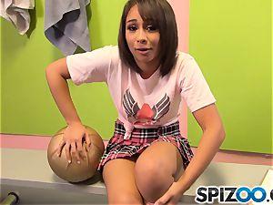 nasty schoolgirl Athena Summers