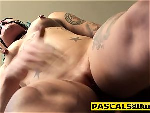 domination & submission punk gets railed