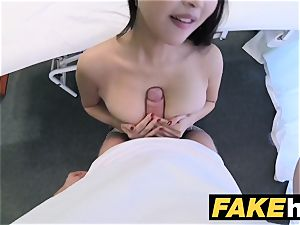 faux clinic man-meat hungry oriental French girl