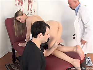 Jillian Gets pummeled By Real guy in Front of hubby