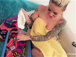 Behind the vignettes joy with Christy Mack