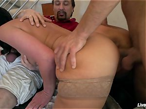 LiveGonzo Phoenix Marie xxx double penetration threesome act