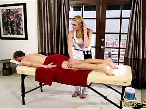 man meat riding masseur honey